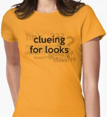 [Sherlock] - Clueing for Looks  Womens Fitted T-Shirt