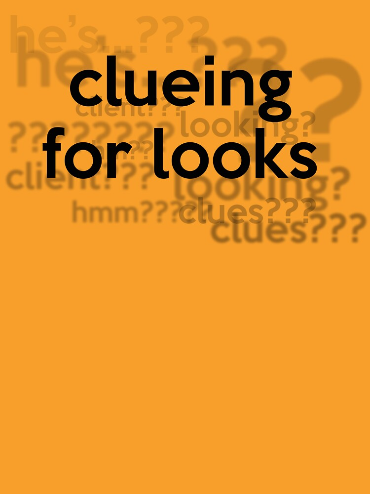 [Sherlock] - Clueing for Looks  | Women's T-Shirt