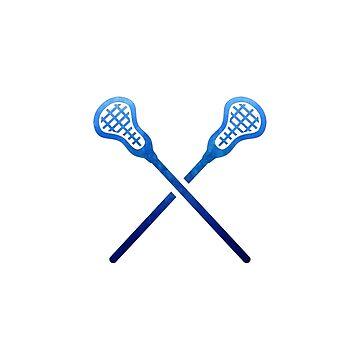 Lacrosse-Stock dunkelblau von hcohen2000