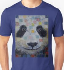 Panda Checkers Unisex T-Shirt
