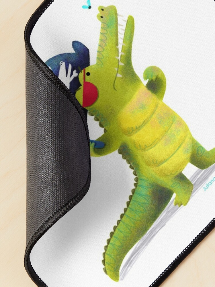 Alternate view of Captain Pirate Crocodile Mouse Pad