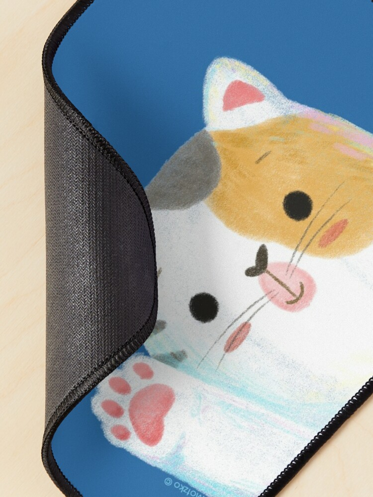 Alternate view of Hello Cat Mouse Pad