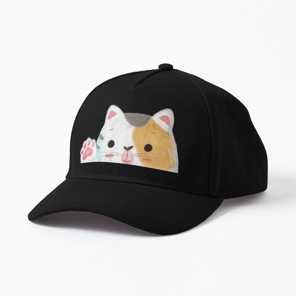 Hello Cat Cap