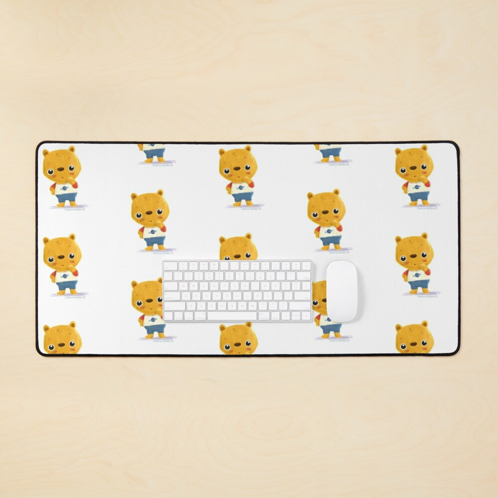 Tommy Bear Mouse Pad