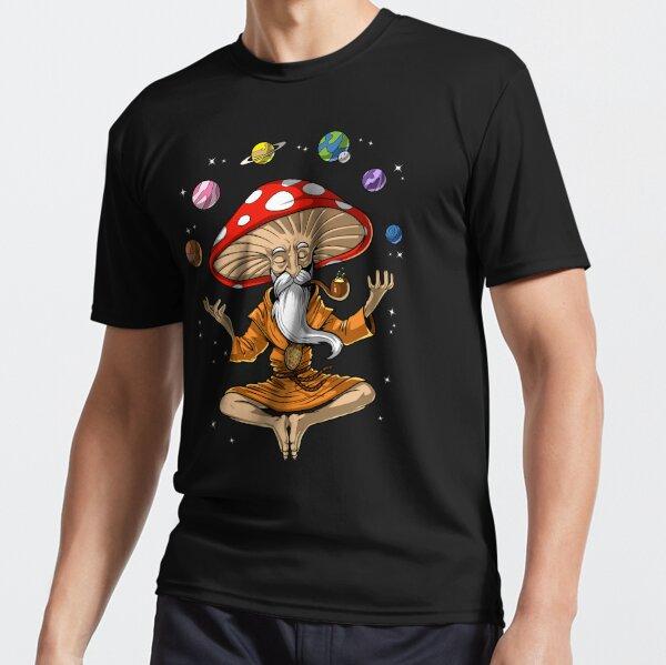 Magic Mushroom Buddha Active T-Shirt