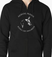 Aerial Manx - King of Swords Zipped Hoodie