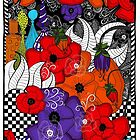 Colourful Poppies by RC-aRtY