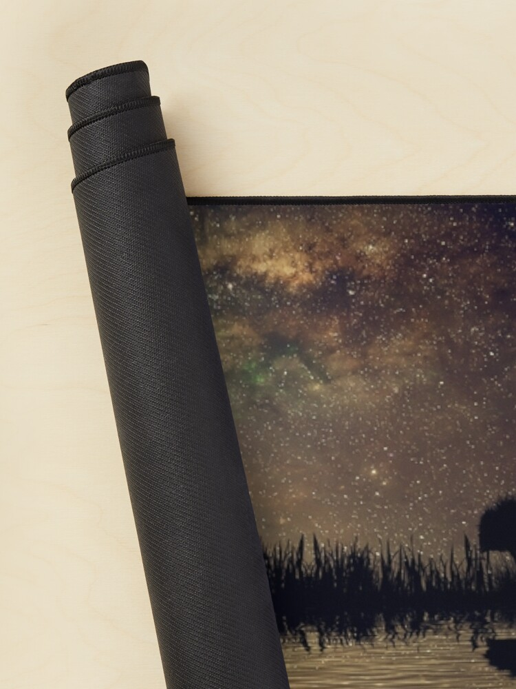 Alternate view of guitar island moonlight Mouse Pad