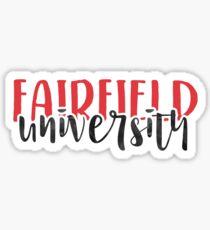 Fairfield University - Style 1 Sticker