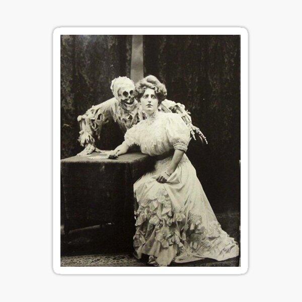 Victorian Halloween Costume Sticker