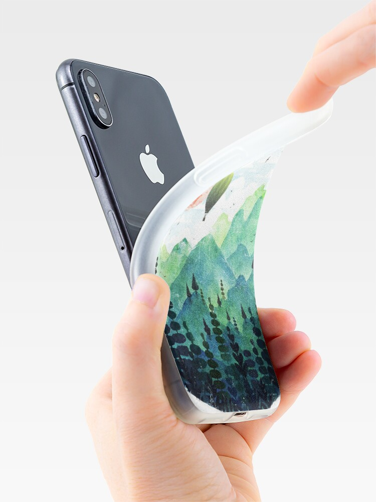 Alternate view of Roundscape iPhone Case & Cover