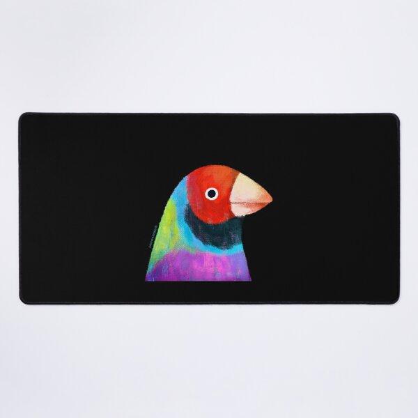 Gouldian Finch Bird Desk Mat