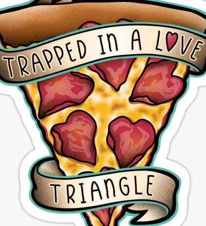Trapped Sticker