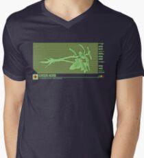 Resident Evil Green Herb V-Neck T-Shirt