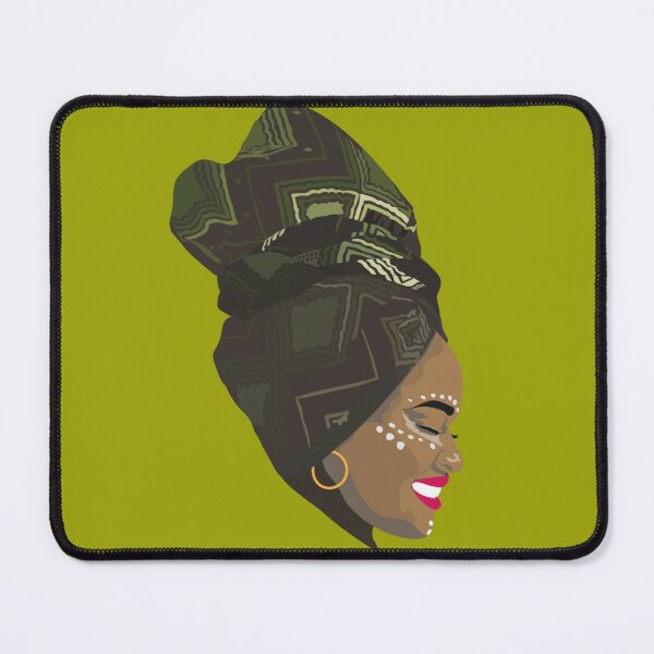 For the LOVE of AFRICA-Green Mouse Pad