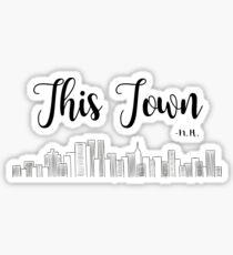 This Town - N.H. Sticker