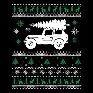 Christmas - Jeep Ugly Christmas by dianewhitten