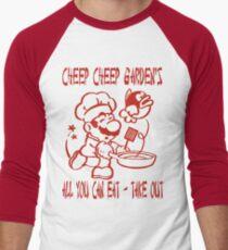 Cheep Cheep Garden's Men's Baseball ¾ T-Shirt