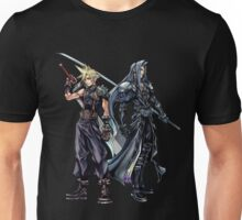 Cloud and Sephiroth Unisex T-Shirt