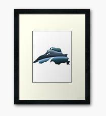 Lake Superior Waves Framed Print