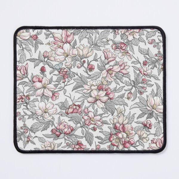 Busy Day in Spring Apple Garden  Mouse Pad