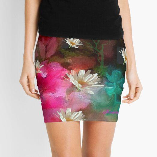 The Seeds Of A Flower Mini Skirt
