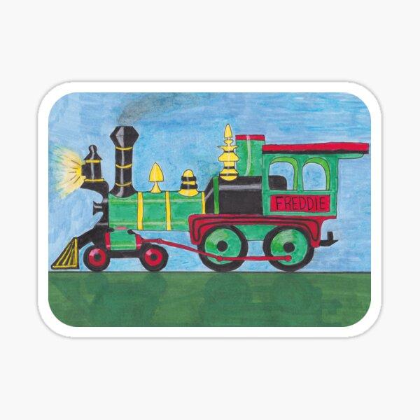 Freddie's Train Sticker