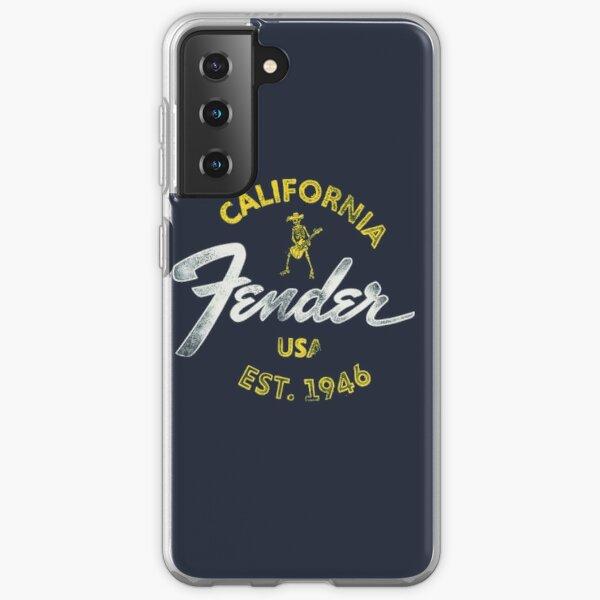 Fender Baja Blue Samsung Galaxy Soft Case