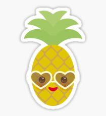 Happy Pineapples Sticker