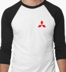 Mitsubishi Logo Baseballshirt für Männer