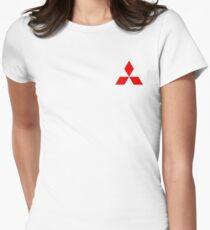 Mitsubishi Logo Women's Fitted T-Shirt