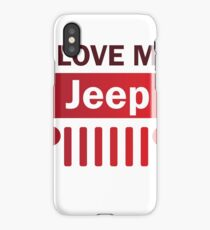 I Love my Jeep iPhone Case