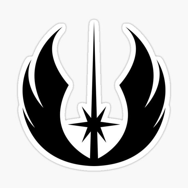 Rebel Alliance Emblem BLK Sticker