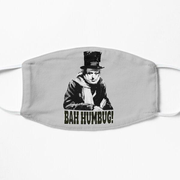 BAH HUMBUG. Ebenezer Scrooge. Flat Mask