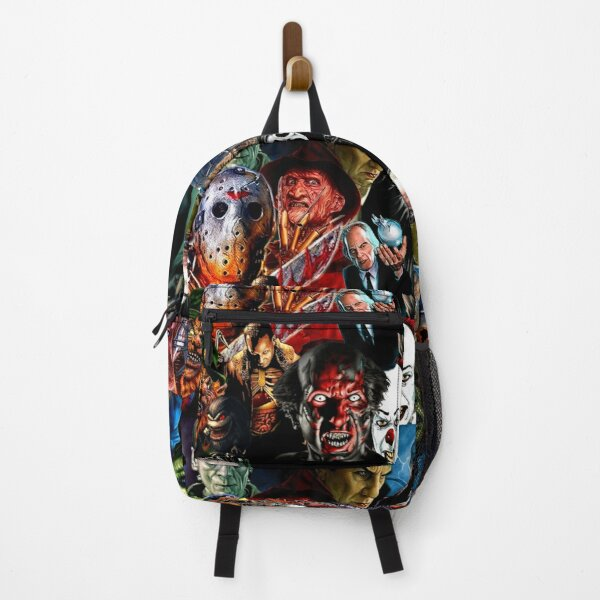 Collage Of Horror Part 1 Backpack
