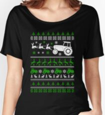 Christmas - Farmer Ugly Christmas Women's Relaxed Fit T-Shirt