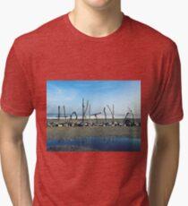 Hokitika beach Tri-blend T-Shirt