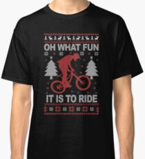 Christmas - Mountain Bike Ugly Christmas Classic T-Shirt