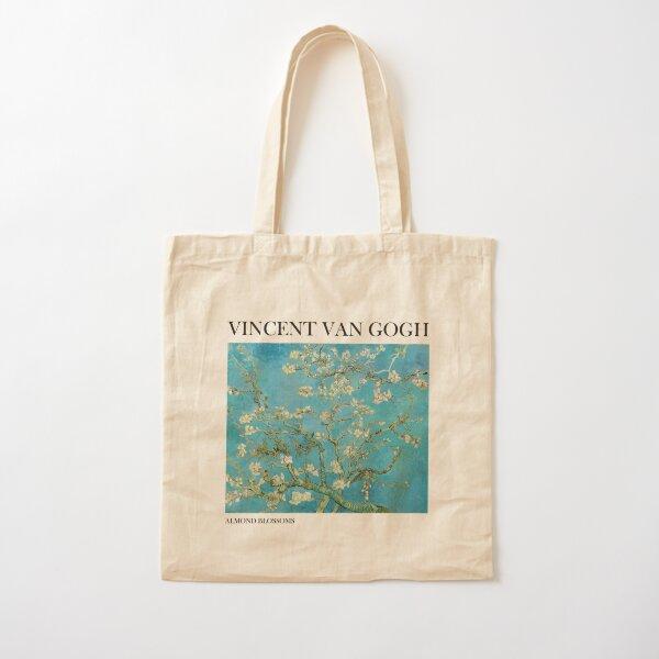 Almond Blossoms by Vincent van Gogh Cotton Tote Bag