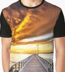 Lonsdale Sunrise Graphic T-Shirt