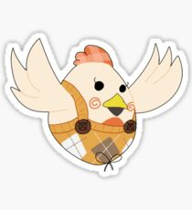 Miss Cluck The Insincere Sticker