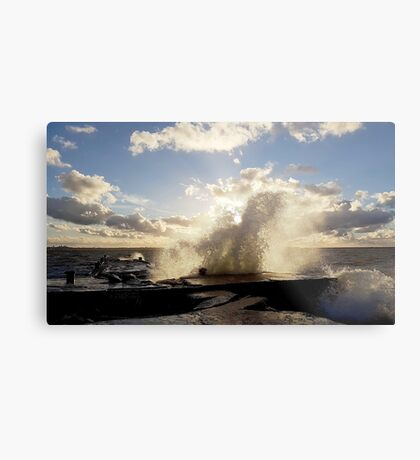 Stormy start to October Metal Print