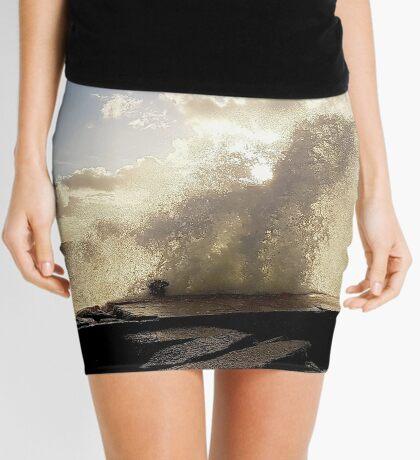 Stormy start to October Mini Skirt