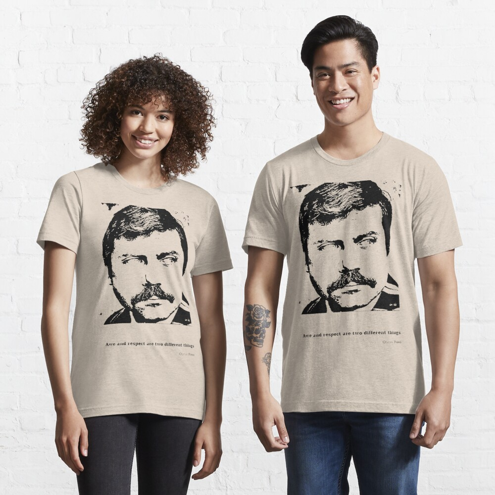 Oliver Reed Awe & Respect Essential T-Shirt