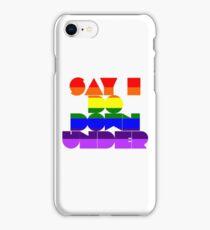 Say I Do Downunder  iPhone Case/Skin