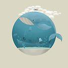 Whale & Jellyfish by erdavid