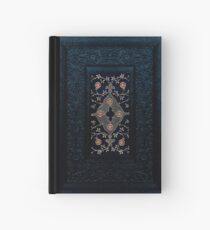 Classic Midnight Blue Leather Look Hardcover Journal