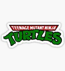 TMNT // 80s logo Sticker