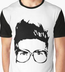 Joey Graceffa SIlhouette Head Graphic T-Shirt