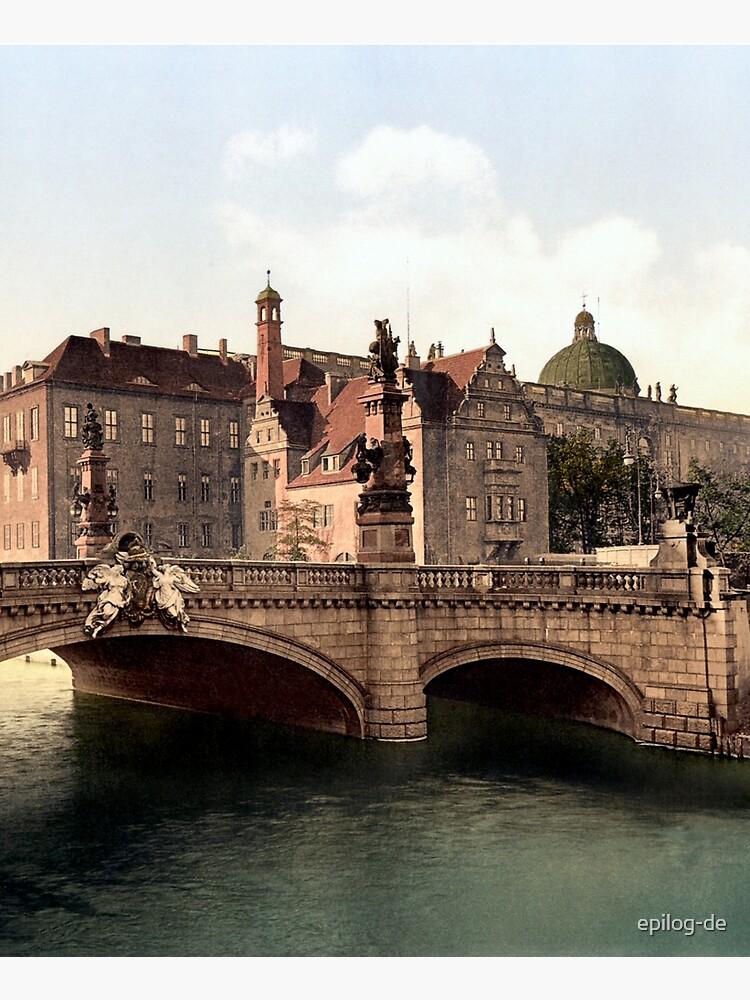 Kaiser-Wilhelm-Brücke und Berliner Schloss von epilog-de